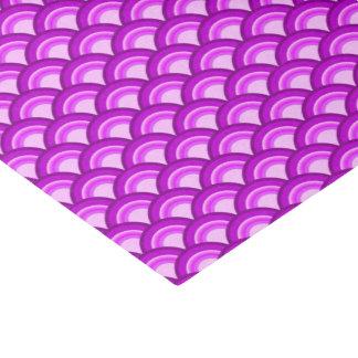 Modelo de onda del art déco - sombras de la papel de seda pequeño