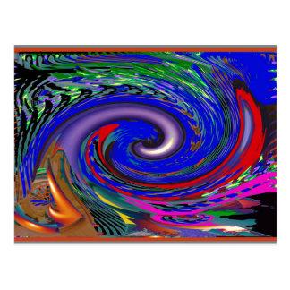 Modelo de onda del tornado postal
