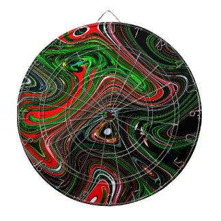 Modelo de onda tablero de dardos