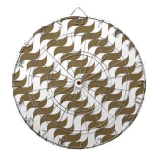Modelo de onda retro de Brown Tablero De Dardos