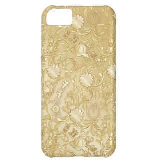 Modelo de oro adornado de Cenicienta Funda Para iPhone 5C