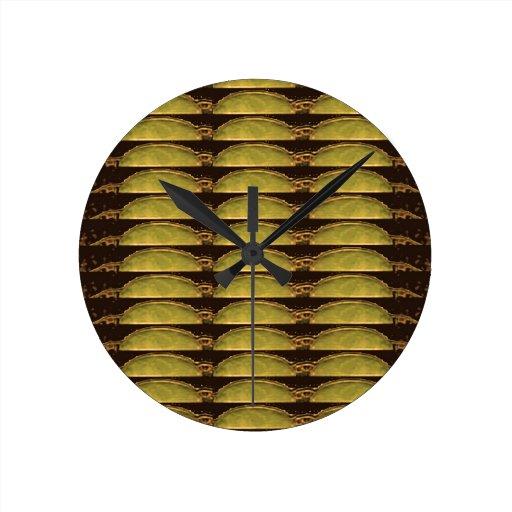 Modelo DE ORO de las tiras: De imagen del ídolo de Reloj De Pared