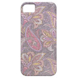 Modelo de Paisley y de flores iPhone 5 Case-Mate Protector