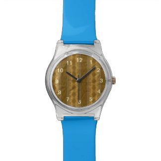 Modelo de papel colorido de moda relojes de pulsera