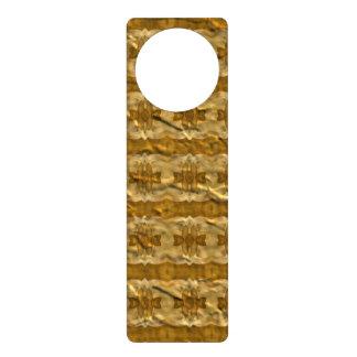 Modelo de papel de moda colgante para puerta