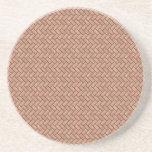 Modelo de piedra de los ladrillos (rosa de desiert posavasos manualidades