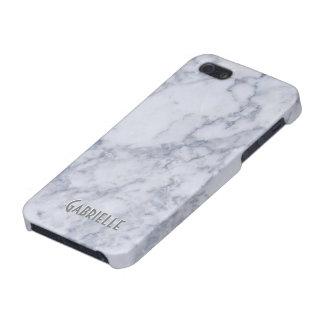 Modelo de piedra de mármol blanco de Monogramed