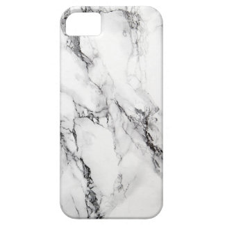 Modelo de piedra de mármol gris iPhone 5 carcasa