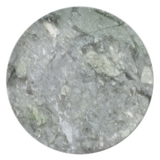 Modelo de piedra de mármol retro de la textura plato