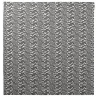 Modelo de plata de MetalArt Servilleta Imprimida