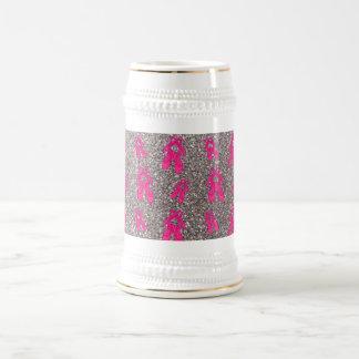 Modelo de plata del brillo de los deslizadores del jarra de cerveza