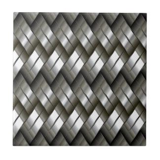 Modelo de plata del metal tejas  ceramicas