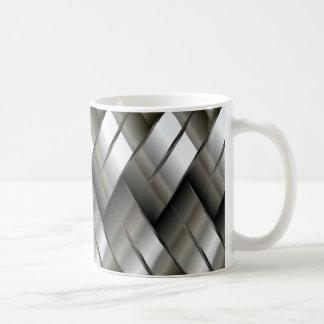 Modelo de plata del metal taza