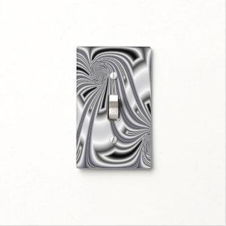 Modelo de plata cubiertas para interruptor