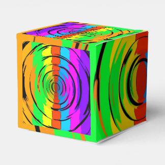 Modelo de prueba del arco iris cajas para regalos