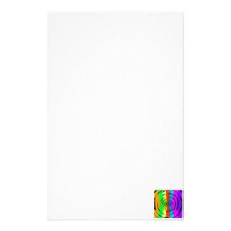 Modelo de prueba del arco iris papeleria de diseño