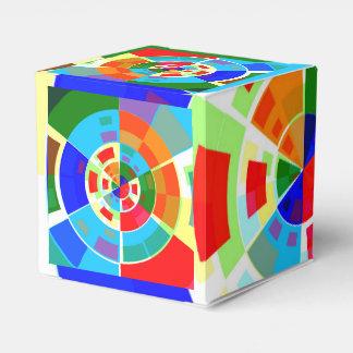 Modelo de prueba retro cajas para regalos de fiestas