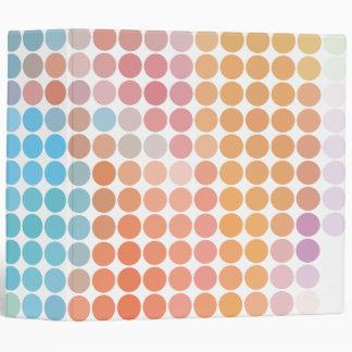 modelo de punto en colores pastel del mosaico note
