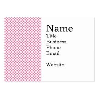 Modelo de punto intrépido de las rosas fuertes plantilla de tarjeta de negocio