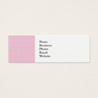Modelo de punto intrépido de las rosas fuertes tarjetas de visita mini