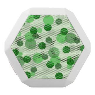 Modelo de punto verde del póker altavoces bluetooth blancos boombot REX