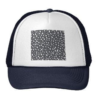 Modelo de puntos manchado gorras de camionero
