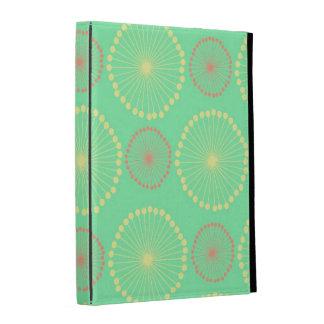 Modelo de puntos verde elegante floral femenino tr