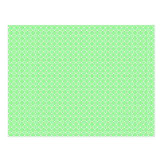 Modelo de puntos verde postales