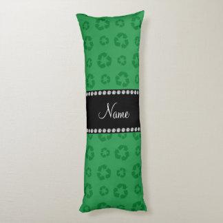 Modelo de reciclaje verde conocido personalizado cojin cama