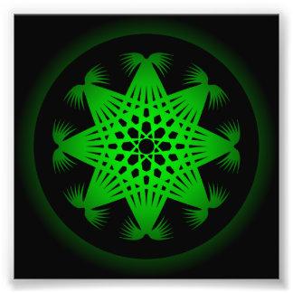 Modelo de rejilla circular Trippy Impresion Fotografica