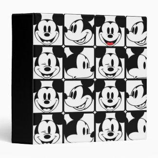"""Modelo de rejilla de Mickey Mouse el   Carpeta 1 1/2"""""""