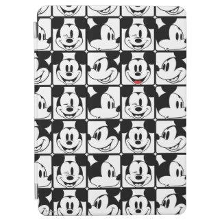 Modelo de rejilla de Mickey Mouse el   Cubierta De iPad Air