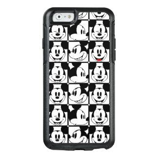 Modelo de rejilla de Mickey Mouse el | Funda Otterbox Para iPhone 6/6s