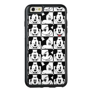 Modelo de rejilla de Mickey Mouse el | Funda Otterbox Para iPhone 6/6s Plus
