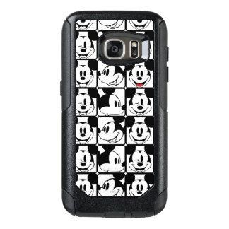 Modelo de rejilla de Mickey Mouse el   Funda Otterbox Para Samsung Galaxy S7