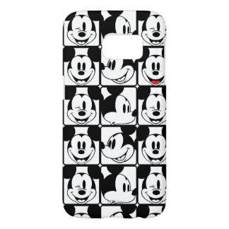Modelo de rejilla de Mickey Mouse el | Funda Samsung Galaxy S7