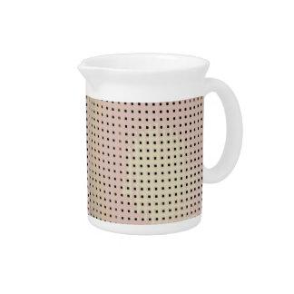 Modelo de rejilla de una silla jarras para bebida