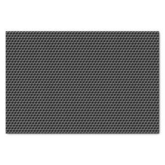 Modelo de rejilla del metal - fondo papel de seda pequeño