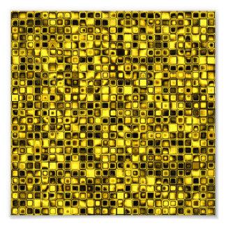 Modelo de rejilla texturizado amarillo y negro bri fotografia