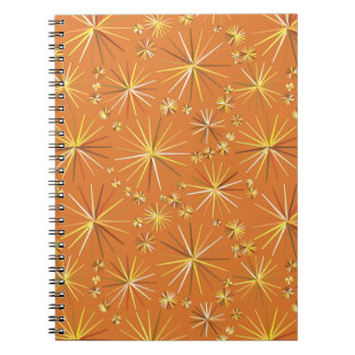 Modelo de Sputnik de los mediados de siglo, Libro De Apuntes Con Espiral