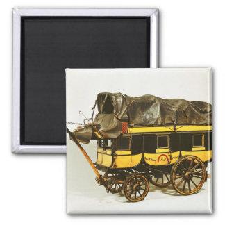 Modelo de un omnibus de cuarenta asientos imán cuadrado
