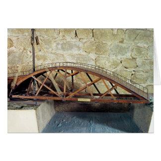 Modelo de un puente de oscilación tarjeta