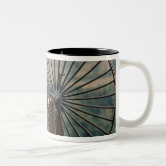 Modelo de una hiladora tazas de café