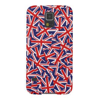 Modelo de Union Jack Fundas De Galaxy S5