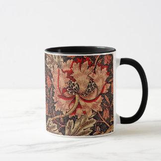 Modelo de William Morris de la madreselva