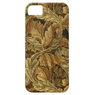 Modelo de William Morris de las hojas de otoño iPhone 5 Carcasas