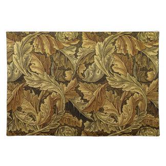 Modelo de William Morris de las hojas de otoño Mantel