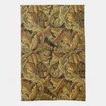 Modelo de William Morris de las hojas de otoño Toalla