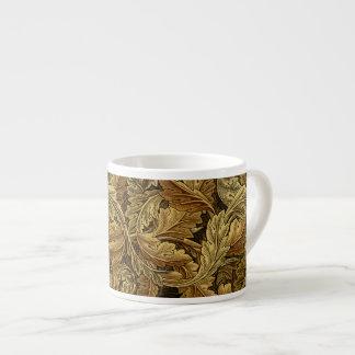 Modelo de William Morris de las hojas de otoño Taza Espresso