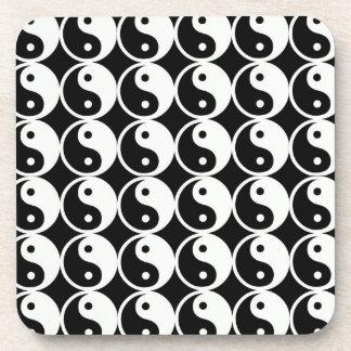 Modelo de Yin y de Yang Posavasos